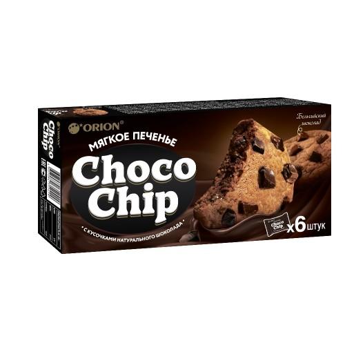 Печенье Чокопай Chocochip  с кусочками шоколада 180г (6шт)