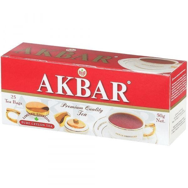 Чай Акбар Limited Edition с/я 25пак.*2г