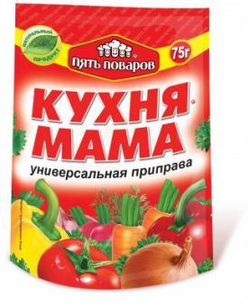 Приправа кухня- мама  75г д/п 5 поваров