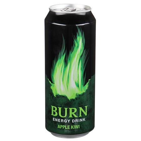 Напиток энерг Бёрн 0,449л ж/б Киви Яблоко Кока-Кола