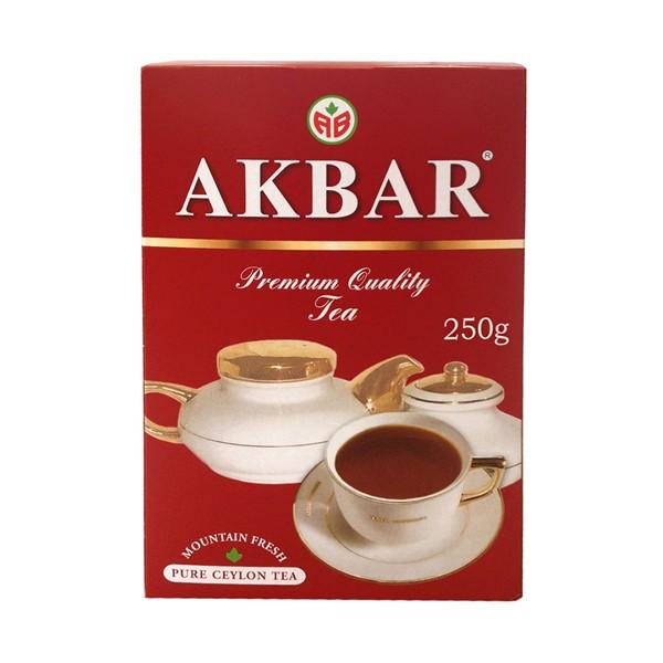 Чай Акбар красный/белый крупн.лист 250г