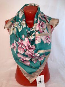 Шелковый платок Valentino, арт.082