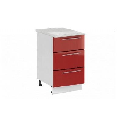 Шкаф нижний с 3 ящиками Ксения ШН3Я 500