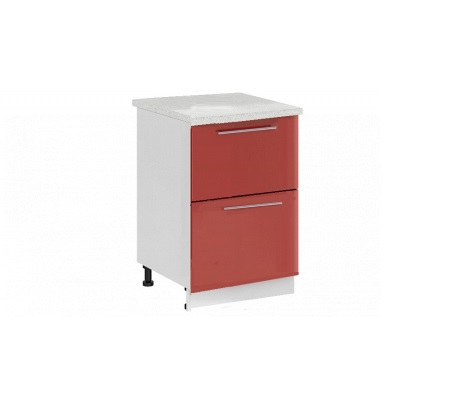 Шкаф нижний с 2 ящиками Ксения ШН2Я 500