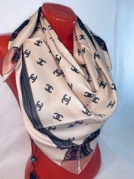 Шелковый платок Chanel, арт.100