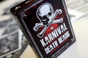 Дизайнерская колода Karnival Death Heads Armour Edition Deck