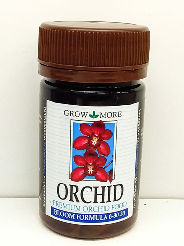 Удобрение для орхидей GROW MORE ORCHID BLOOM FORMULA 6-30-30