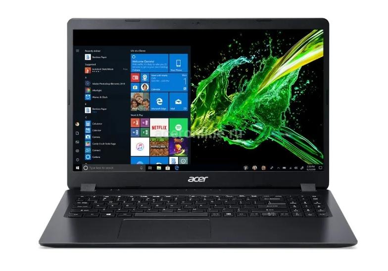 "Ноутбук ACER Aspire 3 A315-42G-R4CM (Ryzen 3 3200U/8Gb/SSD 256Gb/AMD Radeon 540X 2Gb/15,6"" FHD/BT Cam/Linux) Черный (NX.HF8ER.02G)"