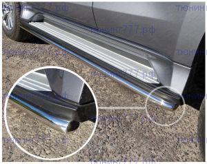 Защита штатных подножек, ТCC, сталь ф 42мм