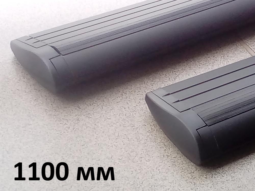 Дуги багажные, крыловидные 82 мм (аэро-трэвэл), черный цвет, Lux - 1100 мм, артикул 793303