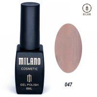 Гель-лак Milano Cosmetic №047, 8 мл