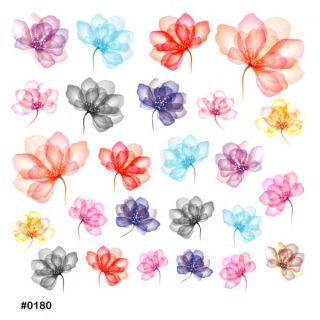 Слайдер-дизайн для ногтей № 0180