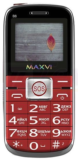 Maxvi B8 Red