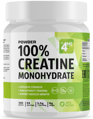 4ME NUTRITION CREATINE MONOHYDRATE 300 Г