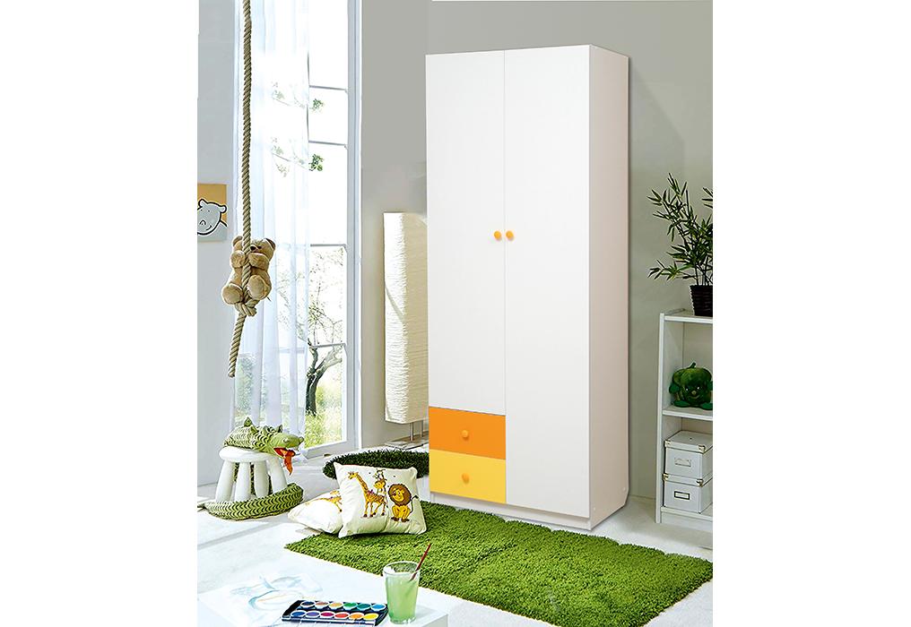 """Шкаф 2-х дверный комбинированный с ящиками  """"Радуга"""""""