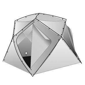 Внутренний тент легкий Лотос Куб 180х210х210