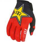 Fly Racing 2021 Lite Rockstar Black/Red/Yellow перчатки