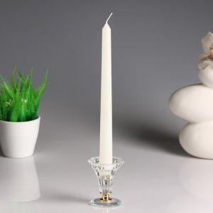 Свеча античная, 2,5х 25 см, белая   1643249