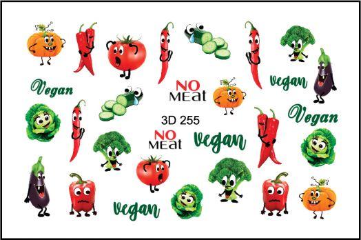FREEDECOR 3D слайдер дизайн Арт. 3D-255 Фрукты, овощи, ягоды