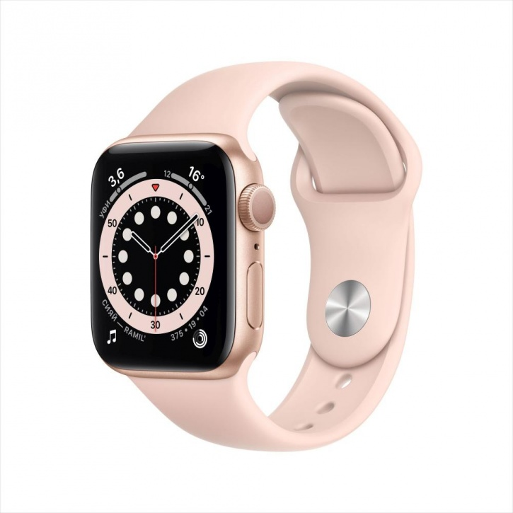 Apple Watch Series 6 GPS 44mm Pink Sand