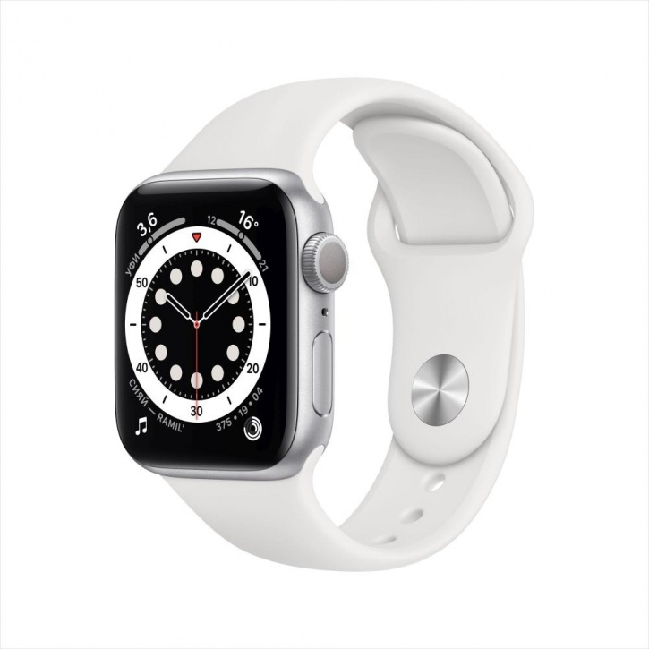 Apple Watch Series 6 GPS 40mm Silver