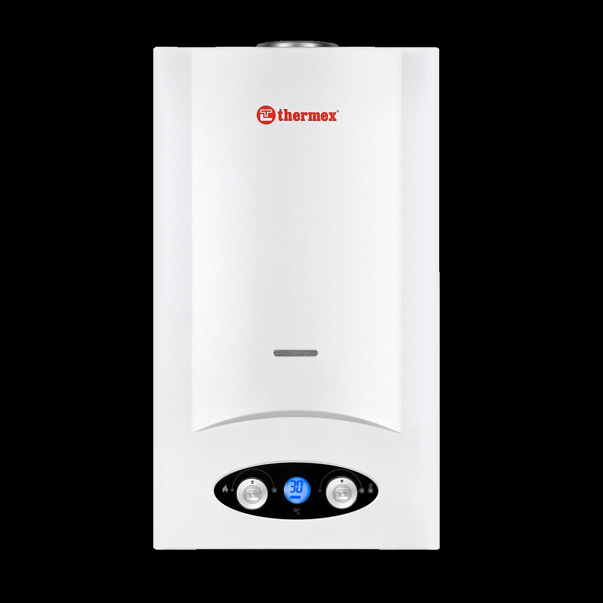 Проточный газовый водонагреватель Thermex G 28 D (Pearl white) (351105)