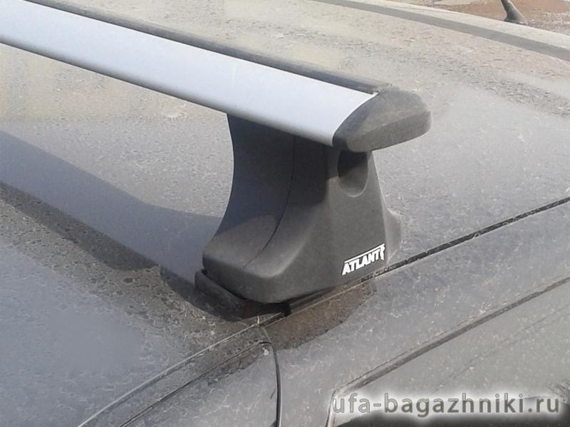Багажник на крышу на ВАЗ 2110, 2112 (Атлант, Россия), крыловидные аэродуги