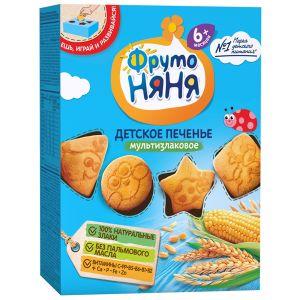 ДП Печенье ФРУТО НЯНЯ 150гр Пшеничное с 6мес