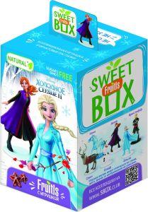 Фруктовые пастилки SWEETBOX 5г Холодное сердце 2 с игрушкой в коробочке