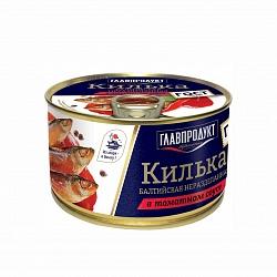 Килька ДЕЛАТИКА 240г в т/с ж/б