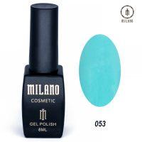 Гель-лак Milano Cosmetic №053, 8 мл