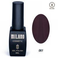 Гель-лак Milano Cosmetic №061, 8 мл
