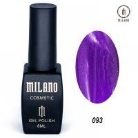Гель-лак Milano Cosmetic №093, 8 мл