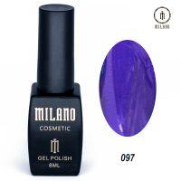 Гель-лак Milano Cosmetic №097, 8 мл
