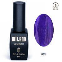 Гель-лак Milano Cosmetic №098, 8 мл