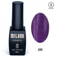 Гель-лак Milano Cosmetic №099, 8 мл
