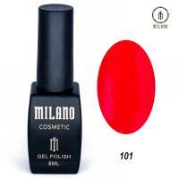 Гель-лак Milano Cosmetic №101, 8 мл