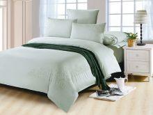 Комплект постельного белья Luxury modal  с вышивкой семейный Арт.41/005-ME