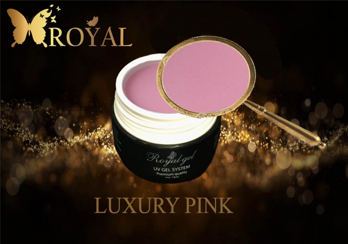 LUXURY PINK ROYAL GEL