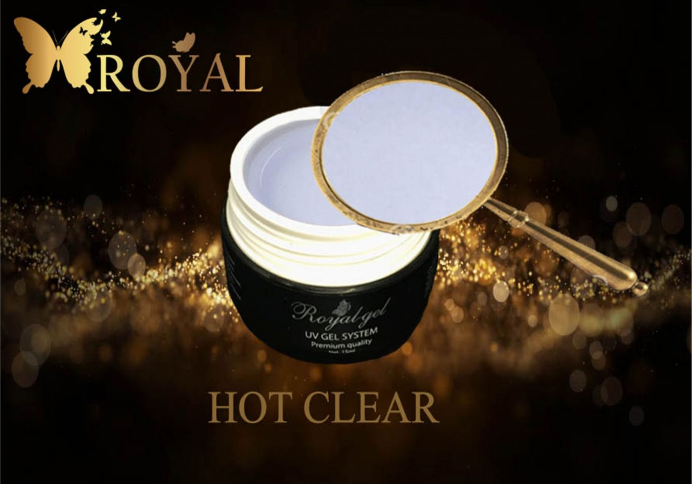 HOT CLEAR ROYAL GEL