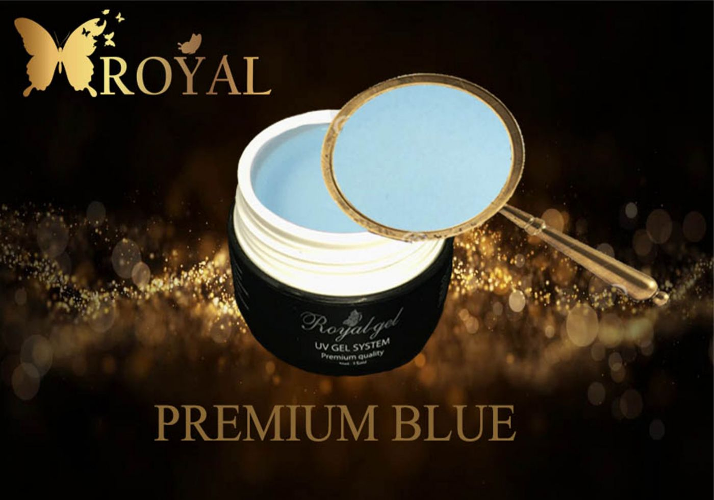 PREMIUM BLUE ROYAL GEL