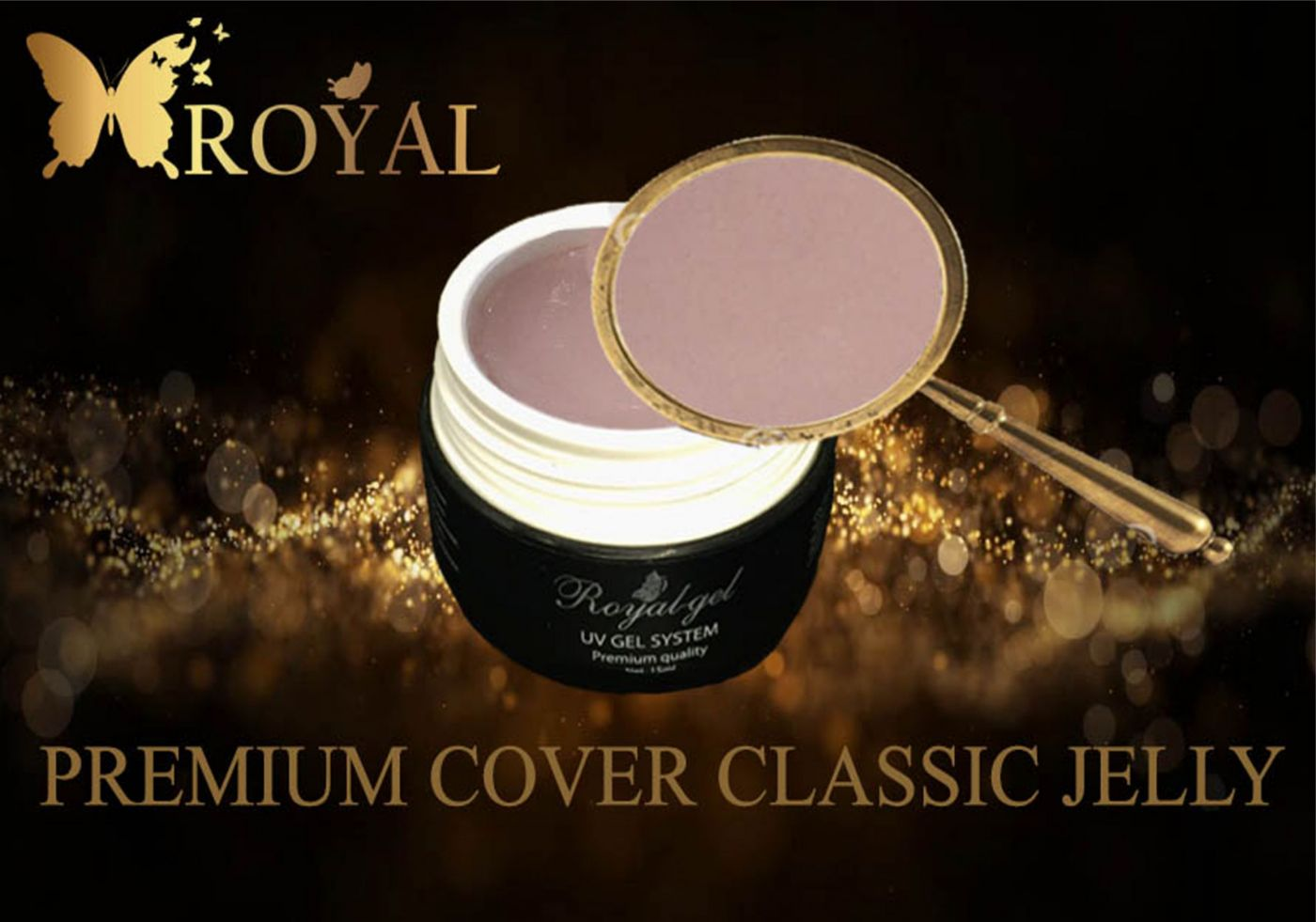 PREMIUM COVER CLASSIC JELLY ROYAL GEL