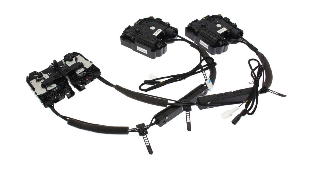 Автомобильный доводчик дверей Audi A6L, A7, A8L, Q8 2019+ Impulse XD011 (на 2 двери) тип1