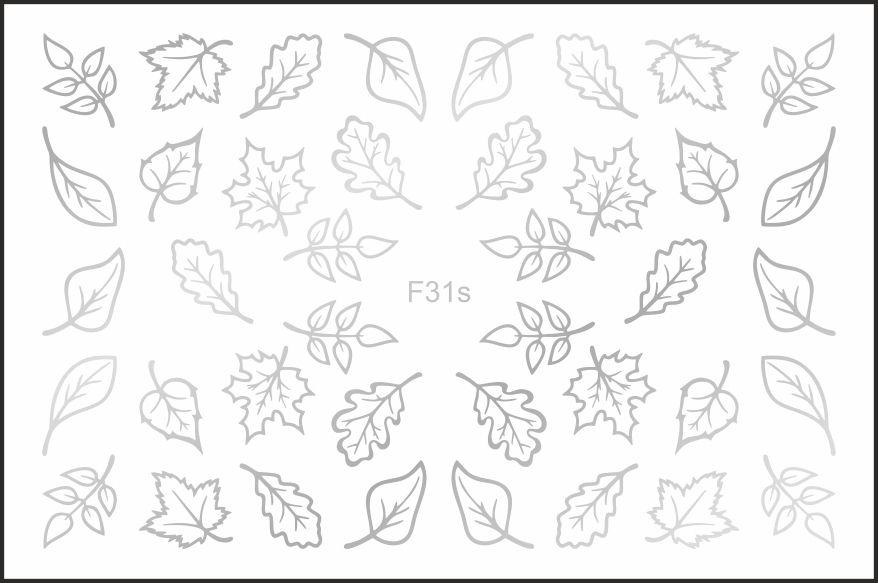 FREEDECOR Фольгированный слайдер Мини Арт. F31s Цветы