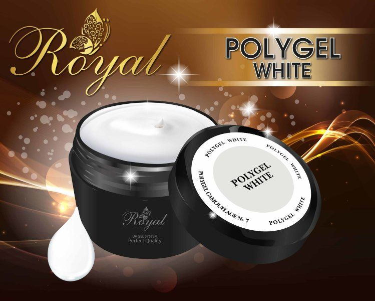ACRYL GEL WHITE ROYAL