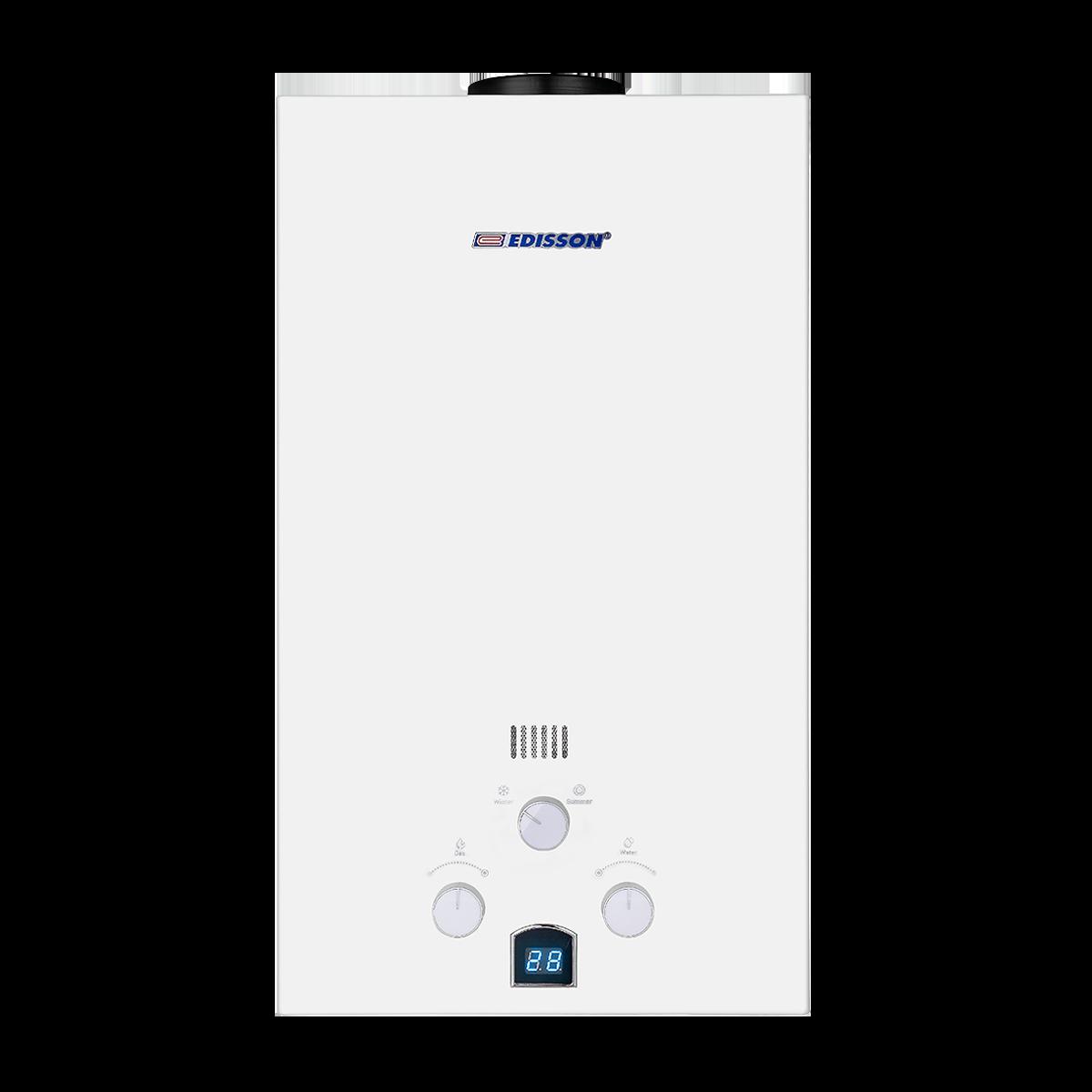 Проточный газовый водонагреватель Edisson E 20 D (361501)