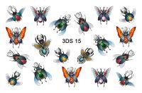 FREEDECOR 3D слайдер со стразами 3Ds-15 Животные, птицы