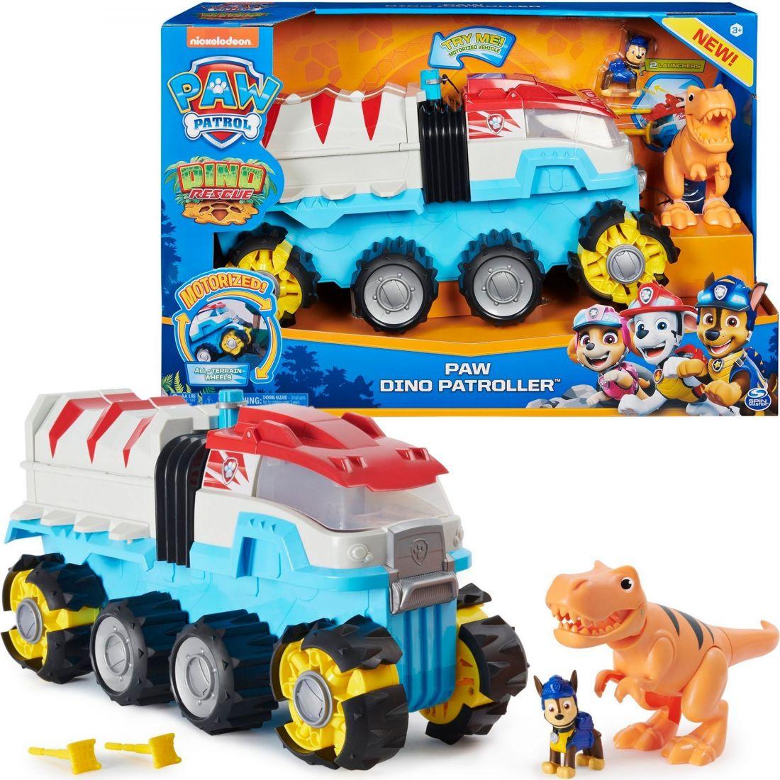 Щенячий патруль Paw Patrol вездеход + динозавр 6058905