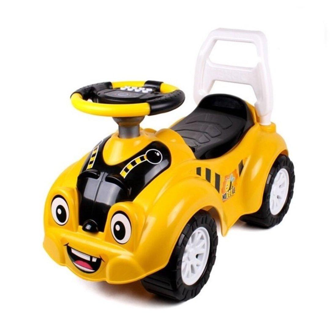 Машина-каталка Пчёлка, муз. руль