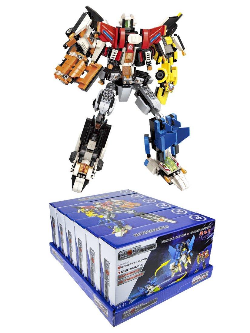 Конструктор Blockformers Мегатрансфайтер, в ассорт.